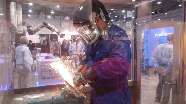 PFERD Grinding Booth at Fabtec